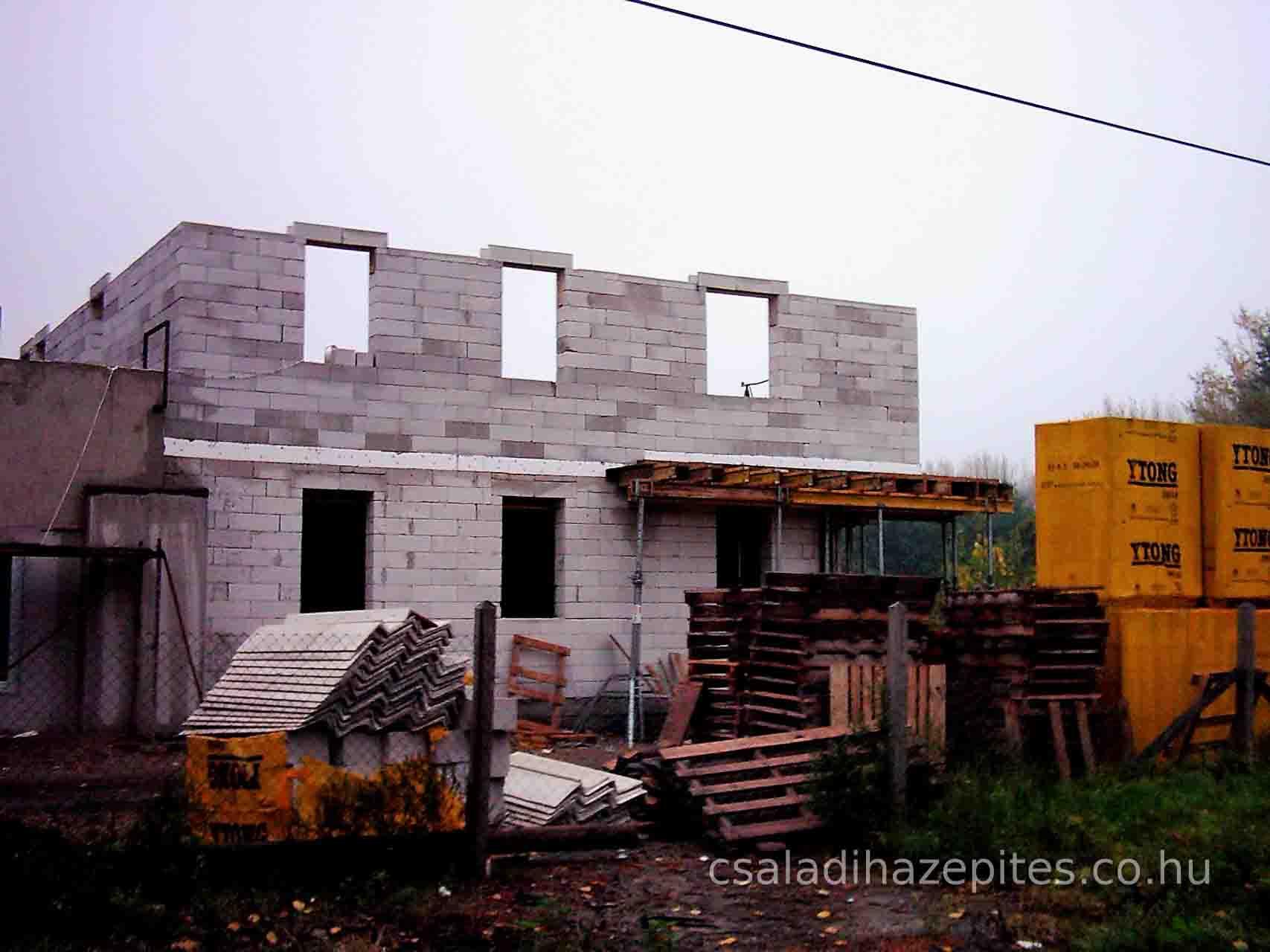 Házépítés, építkezés