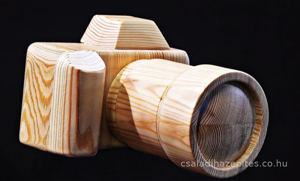 Fa fényképező gép